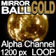 Mirror Ball Gold - VideoHive Item for Sale