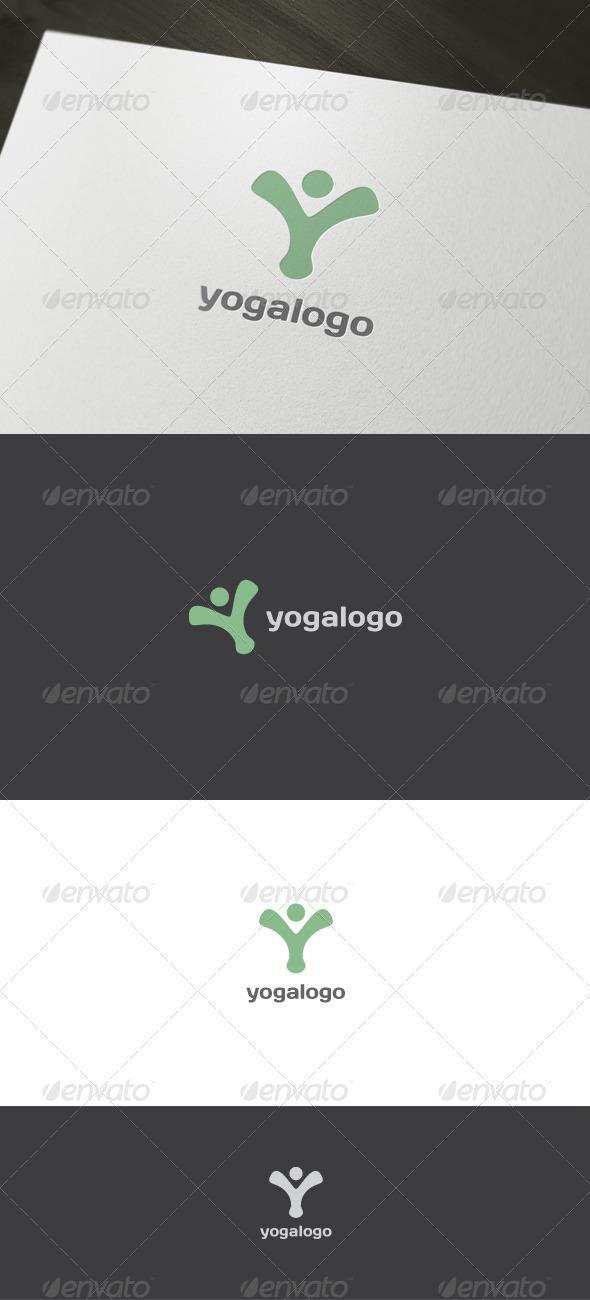 Yoga Logo - Letters Logo Templates