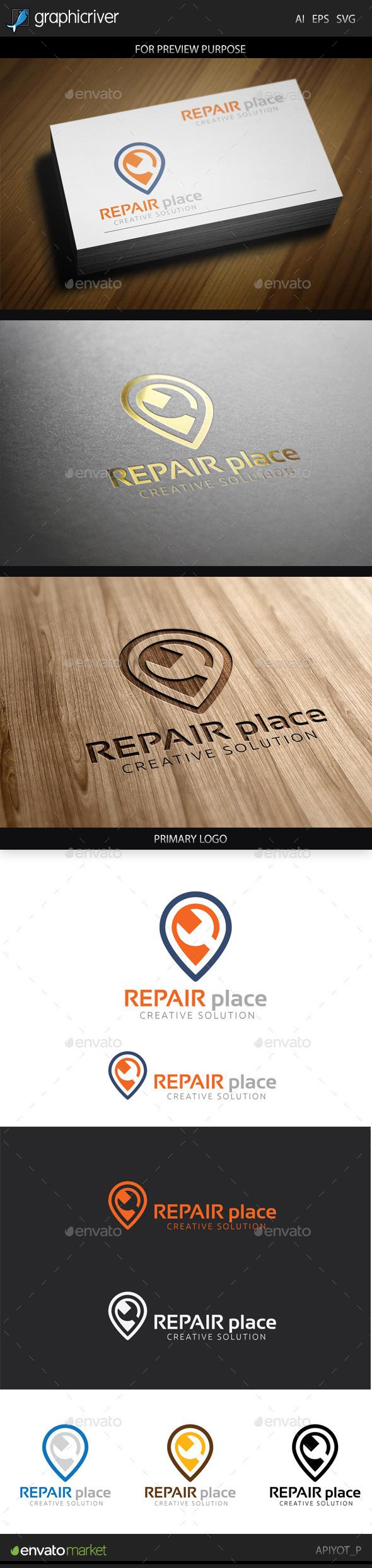 Repair Place Logo - Symbols Logo Templates