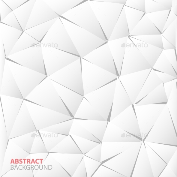 Abstract White Paper Triangle Background - Miscellaneous Conceptual