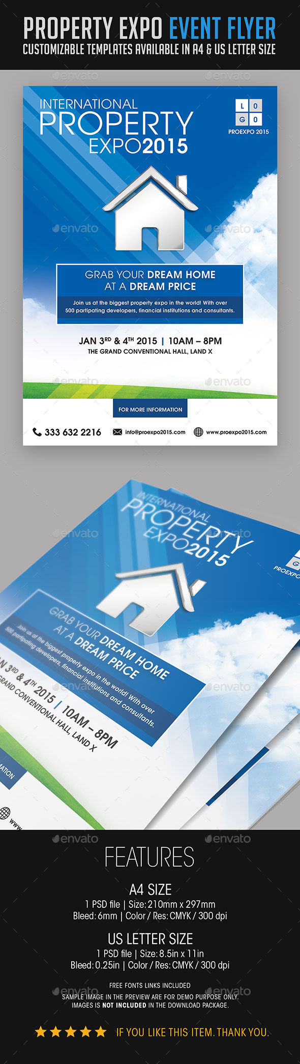 Property Expo Event Flyer - Events Flyers