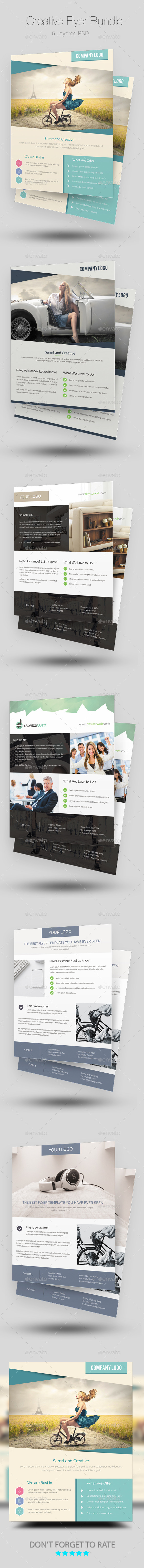 Creative Flyer/Poster Bundle - Corporate Flyers
