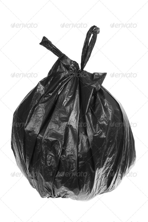 Garbage Bag - Stock Photo - Images