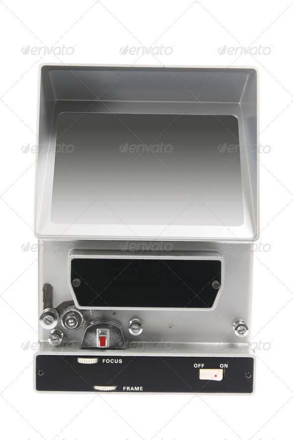 Vintage Film Editing Machine - Stock Photo - Images