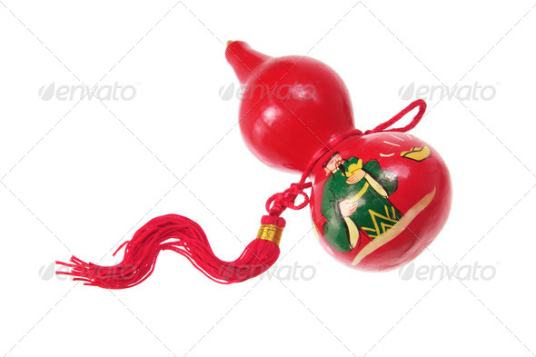 Chinese Gourd Decoration - Stock Photo - Images