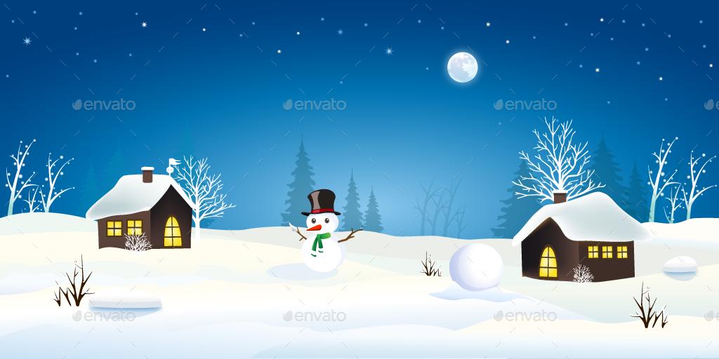 Snow Game Background By Yakdesigner Graphicriver