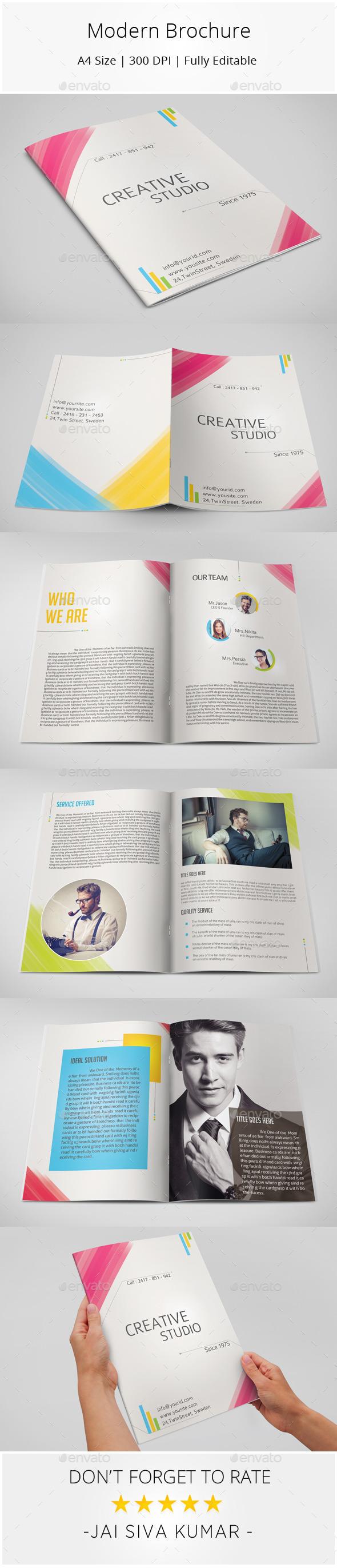 Modern Brochure - Informational Brochures