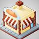 Isometric Bakery - GraphicRiver Item for Sale