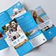 Travel Trifold Brochure V.3 - GraphicRiver Item for Sale