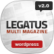 Legatus - Responsive News/Magazine Theme Nulled