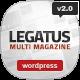 Legatus - Responsive News/Magazine Theme - ThemeForest Item for Sale