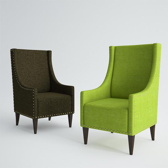 Pushe Armchair Layol - 3DOcean Item for Sale