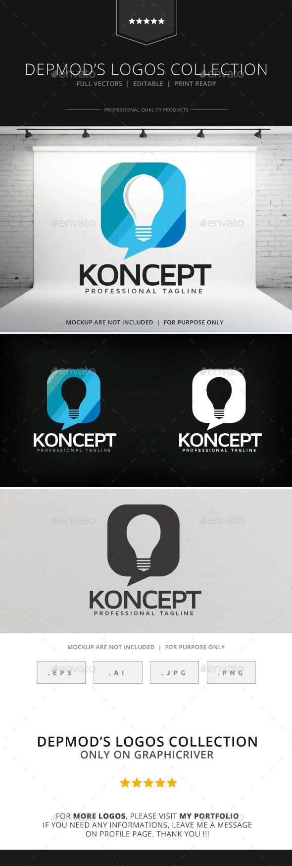 Koncept Logo - Objects Logo Templates