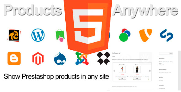 Prestashop Products Anywhere - CodeCanyon Item for Sale