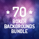 70 Bokeh Backgrounds Bundle - GraphicRiver Item for Sale