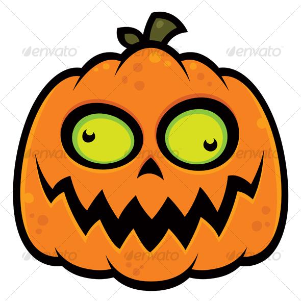 Crazy Pumpkin - Characters Vectors