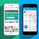 Flat Phone 6 Mockup - GraphicRiver Item for Sale