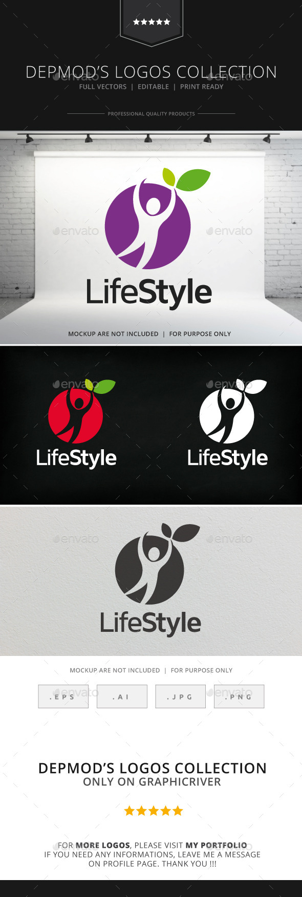 Lifestyle Logo - Humans Logo Templates