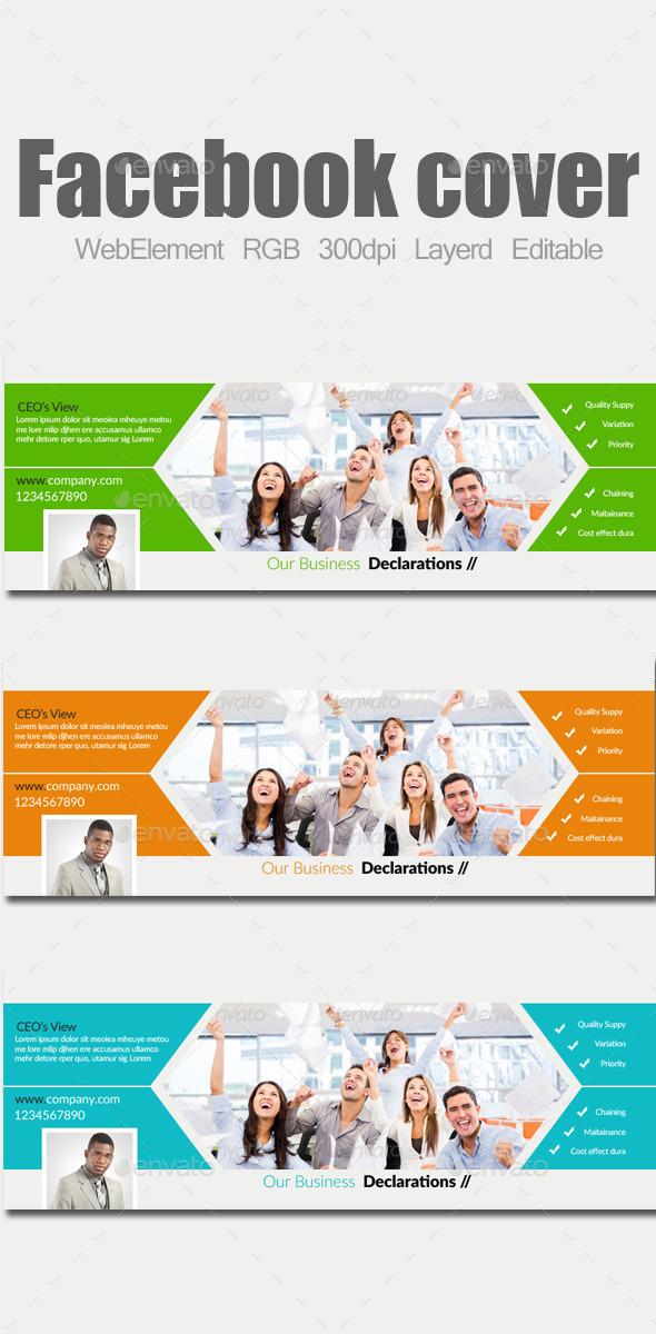 Multi Purpose Business Facebook Covers - Facebook Timeline Covers Social Media