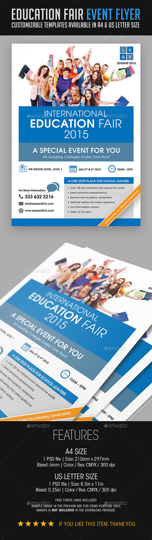 Education Fair Event Flyer - Events Flyers