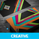Creative Colourful Business Card - GraphicRiver Item for Sale