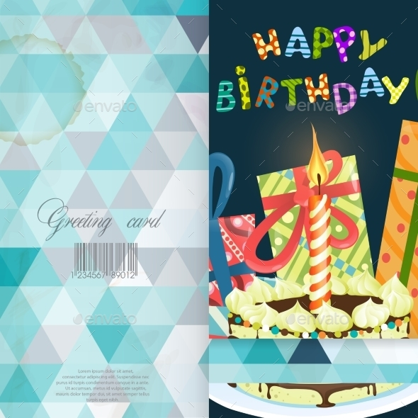 Greeting Card Design, Template - Birthdays Seasons/Holidays