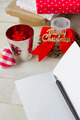 Christmas Card with Christmas Ornaments - PhotoDune Item for Sale