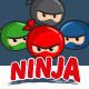 Ninja Team Mascot Pack - GraphicRiver Item for Sale