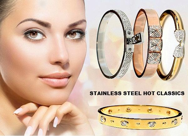 Gold Bangle Bracelet Classics