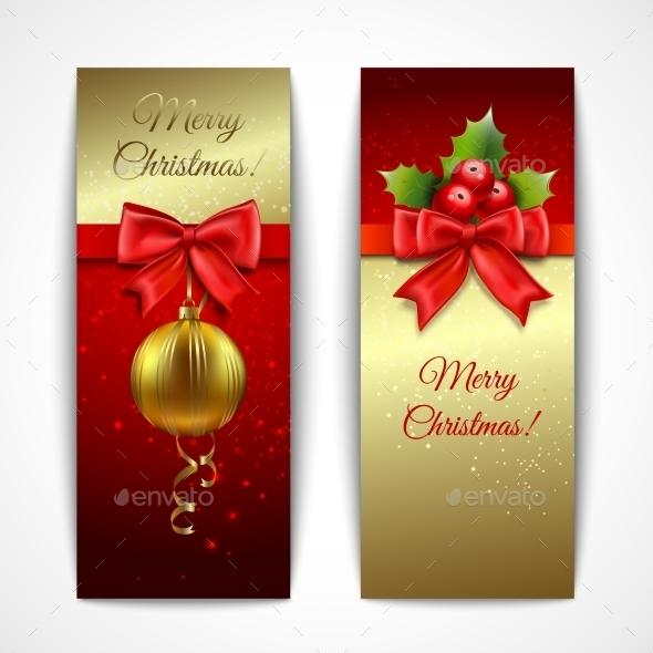 Christmas Banners Vertical - Christmas Seasons/Holidays