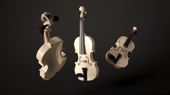 Violin - 3DOcean Item for Sale