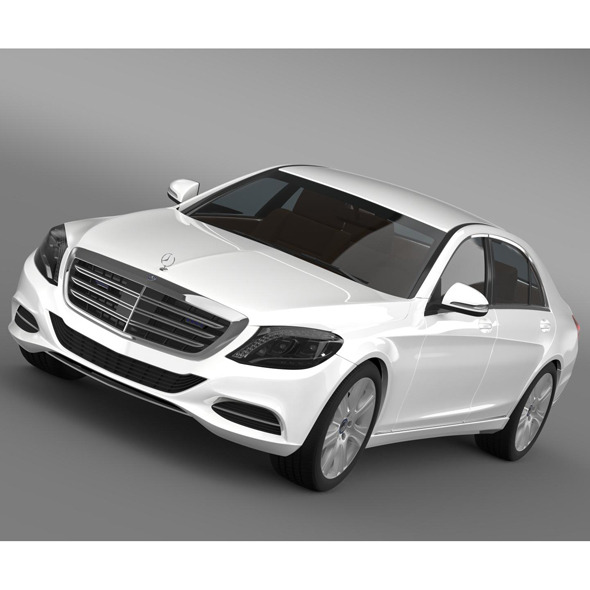 Mercedes Benz S 600 Guard W222 2014 - 3DOcean Item for Sale