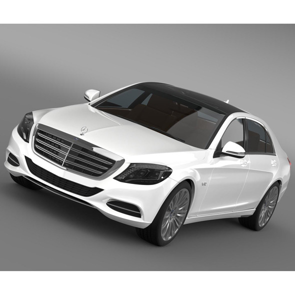 Mercedes Benz S 600 V12 W222 2014 - 3DOcean Item for Sale