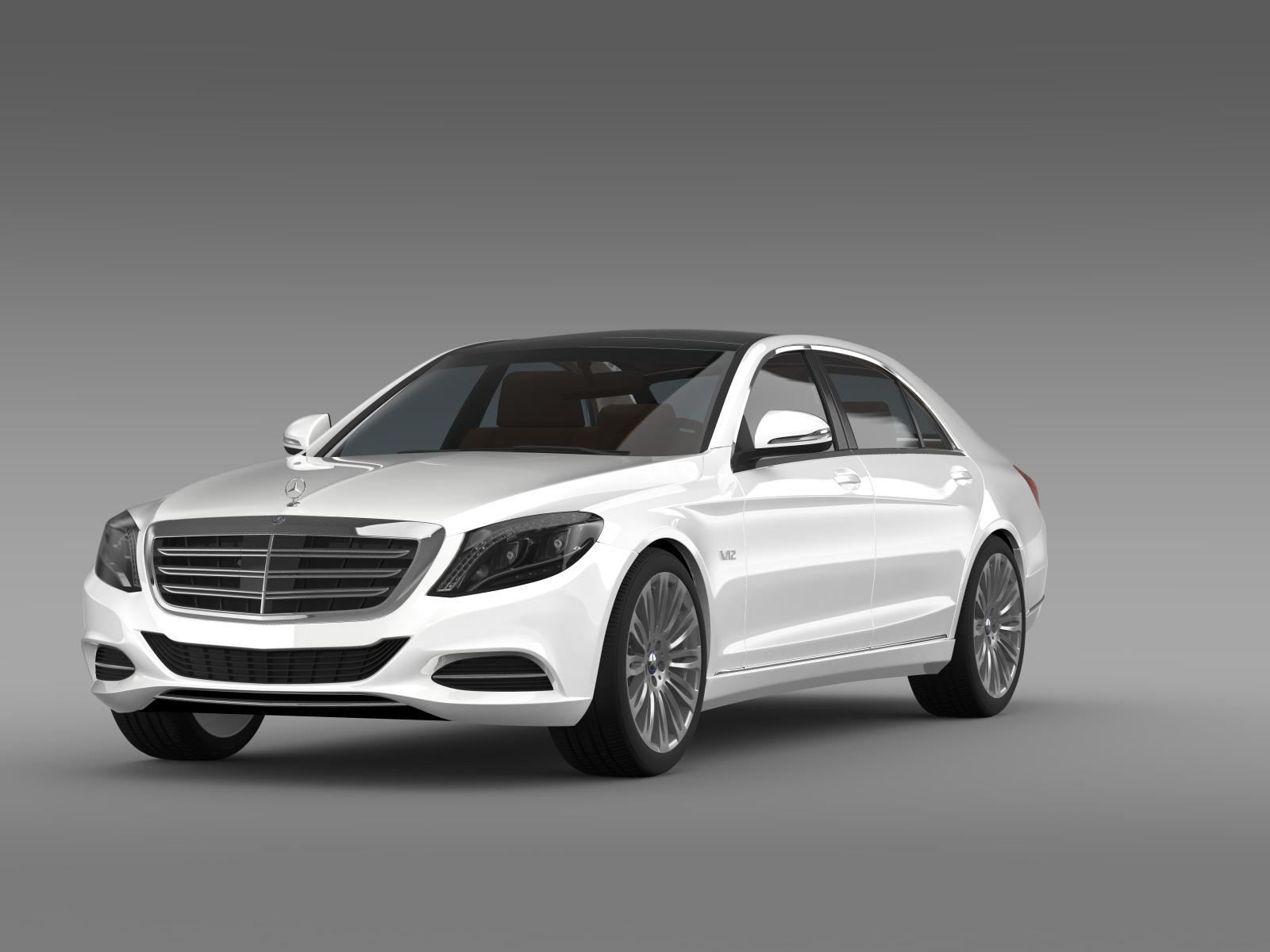 Mercedes benz s 600 v12 w222 2014 by creator 3d 3docean for Mercedes benz creator