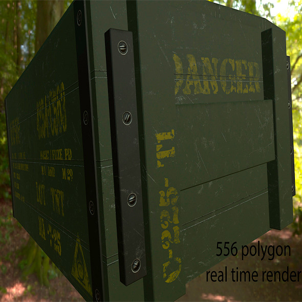 Ammo_Box - 3DOcean Item for Sale