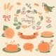 Happy Thanksgiving Set of Elements for Design - GraphicRiver Item for Sale