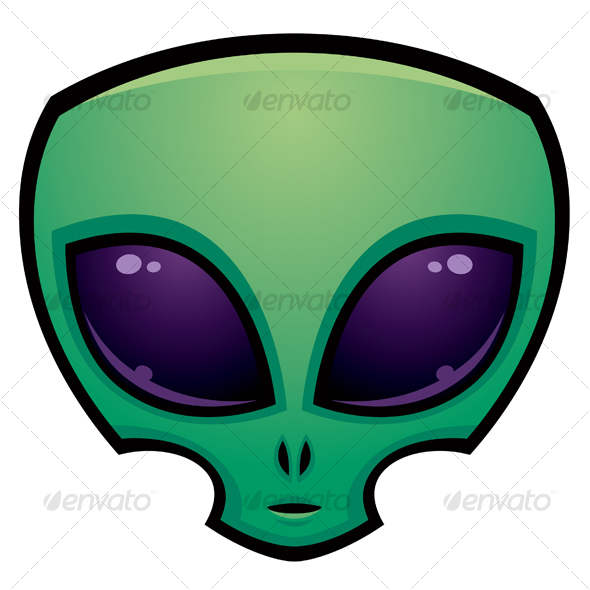 Alien Head Icon - Monsters Characters