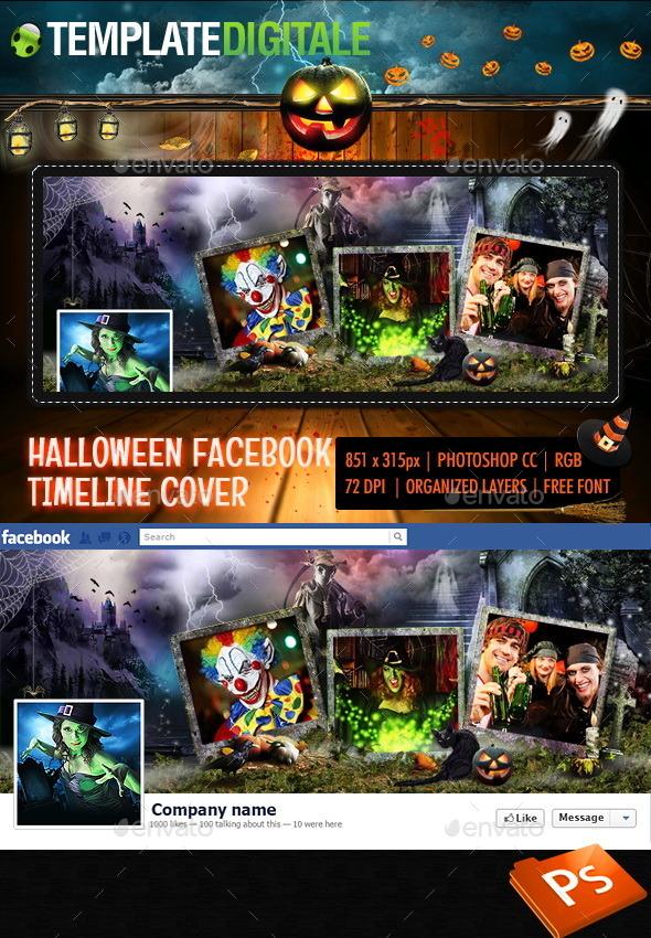 Halloween Facebook Timeline - Facebook Timeline Covers Social Media