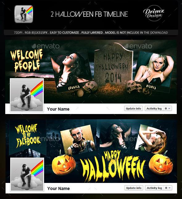 2 Halloween FB Timeline - Facebook Timeline Covers Social Media