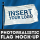Photorealistic Flag Mock-Up - GraphicRiver Item for Sale
