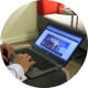 Man in the Hotel Works With a Laptop - VideoHive Item for Sale