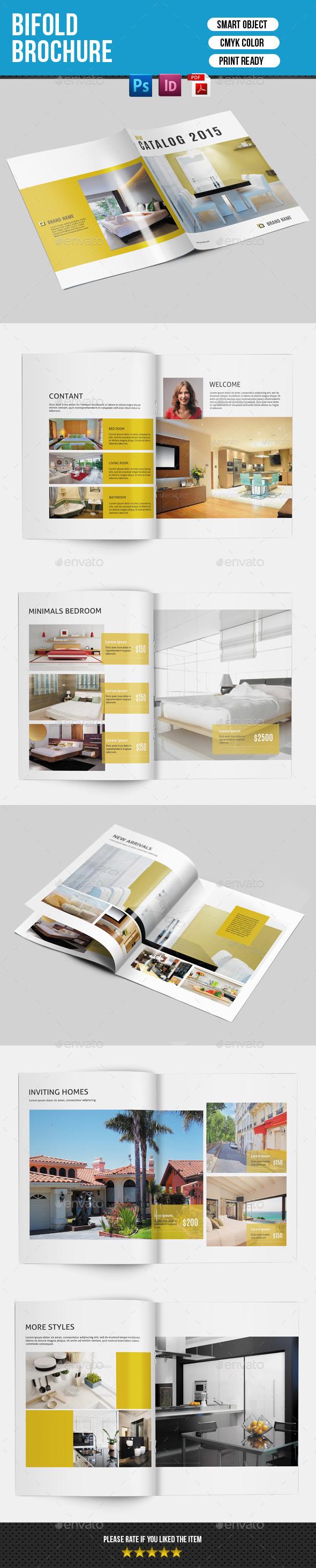 Bifold Brochure for Interior Design-V141 - Corporate Brochures