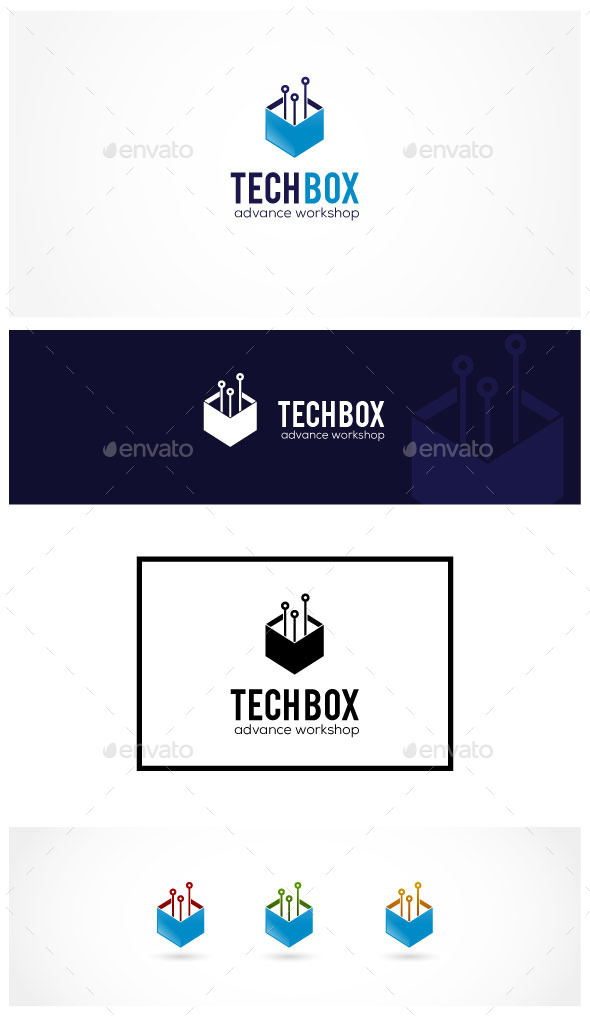 Tech Box - Abstract Logo Templates