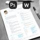 Clean Modern Resume Set - GraphicRiver Item for Sale