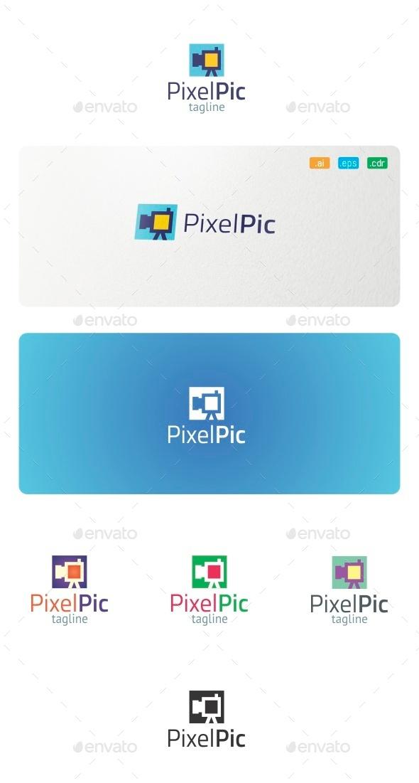 Pixel Pic Logo - Symbols Logo Templates