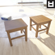 Two high poly stool models