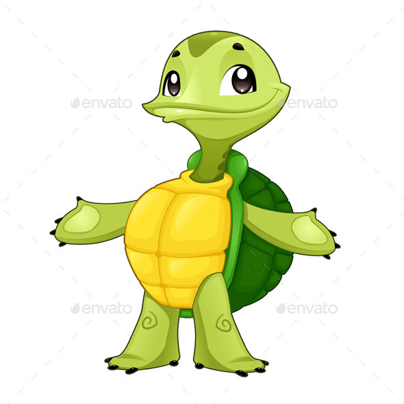 Baby Turtle.  - Animals Characters