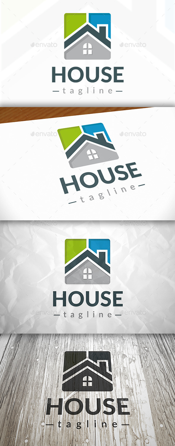 New House Logo - Buildings Logo Templates