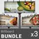 Restaurant Business Billboard Bundle   Volume 5