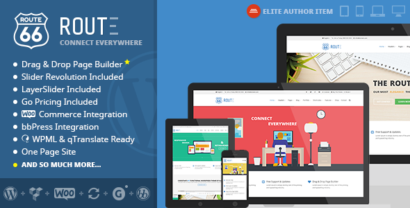 Route – Responsive Multi-Purpose WordPress Theme